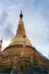 Shwedagon, stupa de la pagoda de oro