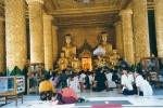 Shwedagon, la pagoda de oro - Yangon - rangún