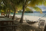 Hamacas en German Island, Port Baron, Palawan
