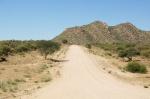 Paisaje camino de Okahandja