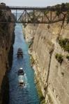 Canal de Corinto, Grecia