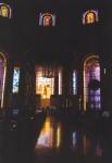 Interior de la Basilica de Yamoussoukro