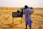 Señal en el desierto