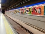IFEMA and FITUR Underground Station - Madrid