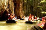 En piragua por las cuevas de Phuket