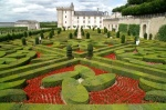 Gardens of Villandry Castle - Loire Valley