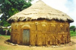 Mezquita circular en el Pais Senufo