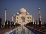Vista del Tah Mahal - Agra