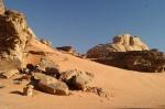Rocks in Wadi Rum