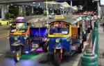 Transporte por Bangkok. Todos los medios