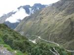 Vista de la carretera de la muerte (Bolivia)
