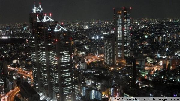 Cruceros urbanos por Tokio