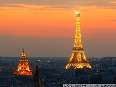 TOUR EIFFEL DESDE NOTRE DAME - Francia