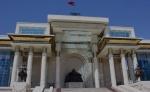 Parlamento mongol en la plaza Sukhbaatar.