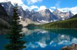 Moraine Lake Moraine, Lake, Banff, National, Park, Canada