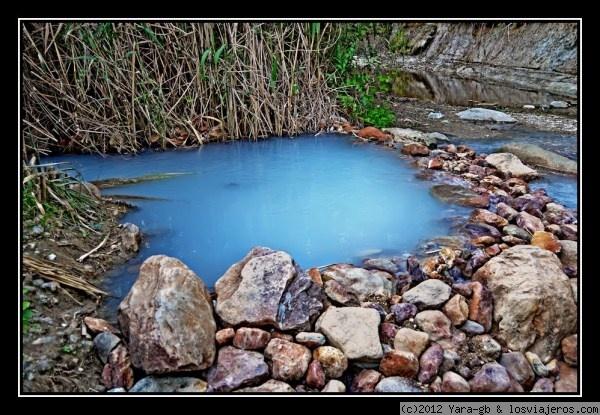 Los Baños Romano La Hedionda: los llamados baños de la Hedionda,agua muy limpia pero olor