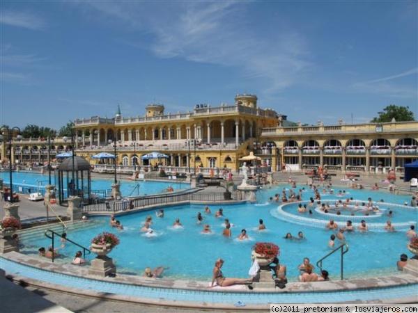 Balneario Baño Grande En Mixquiahuala: Balneario Széchenyi es uno de los recintos termales más grandes de