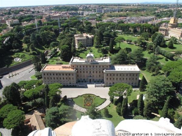 Jardines vaticanos fotos de vaticano losviajeros for Jardines vaticanos