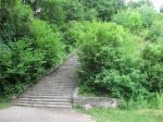 Escalera de la muerte. Campo de Concentración Mauthausen