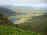 Conor Pass bajo las nubes (Península de Dingle)