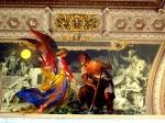 Frontal en los Museos Vaticanos Front in the Vatican Museums