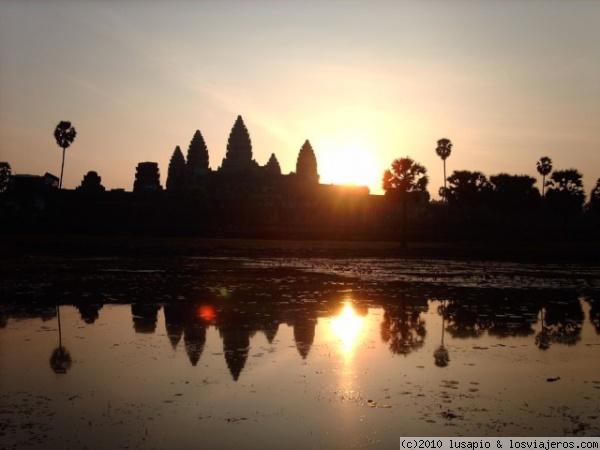 Diferentes recorridos por los templos de Angkor Wat