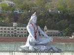 statue of Shiva meditating