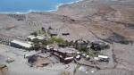 Mineral beach. Mar muerto