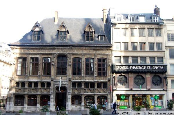 oficina de turismo en rouen fotos de francia losviajeros