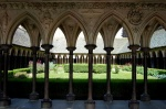 Go to photo: Cloister of the Abbey of Saint Michel