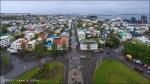 Panorámica de Reykjavik desde Hallgrímskirkja, Reykjavik (Islandia)