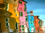 Reflejos en el canal, Burano Reflections on the channel