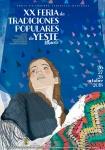 Cartel XX Feria de Tradiciones Populares de Yeste 2018