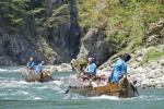 Descender rio Kinugawa. Nikko