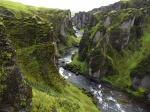 Cañon de Fjaðrárgljúfur
