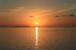 Atardecer en Isla Mirihi Maldivas
