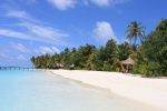 Playa en Maldivas Mirihi