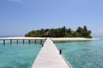Maldivas Mirihi recepcion
