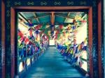 Puente de madera de Butan