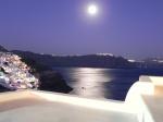 Luna llena en Oia (Santorini)