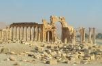 Palmira, y su famoso Arco del Triunfo (Siria)