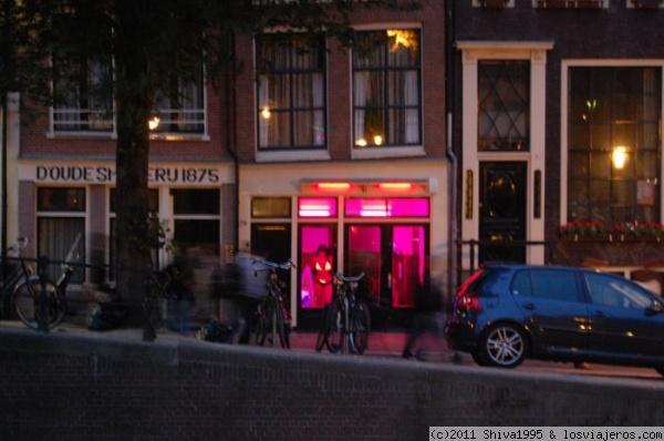 foto barrio rojo amsterdam: