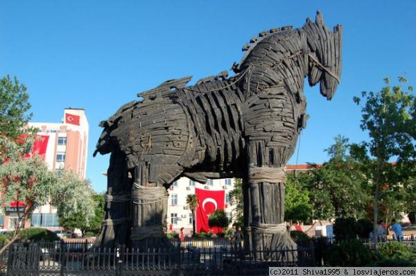 Resultado de imagen de Troya turquia