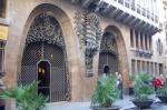 VISITANDO EL PALACIO GÜELL - BARCELONA