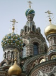 Domes of the Church of Spilled Blood