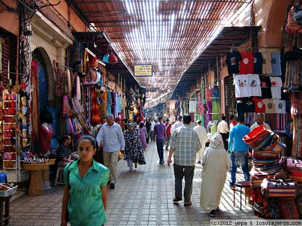 Calles de la medina fotos de marruecos losviajeros - Fotos marrakech marruecos ...