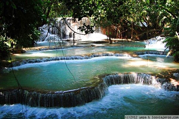 Piscinas naturales laos losviajeros for Albercas naturales