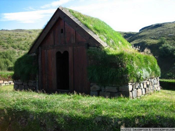 Casa tradicional islandesa fotos de islandia losviajeros - Casas en islandia ...