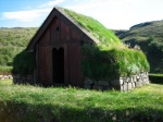 Icelandic traditional house