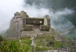 Sun Temple at Machu Picchu, Cusco - Peru.